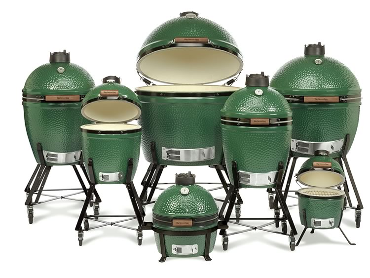 big green egg sizes and different models